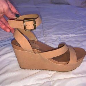 Women's Bamboo Platform Shoes - 6 1/2